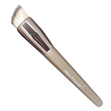 Pincel Chanfrado para Base Líquida Miss Frandy Linha Bronze PM16-60215