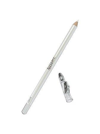 Lápis para Olho com Apontador Branco Luisance