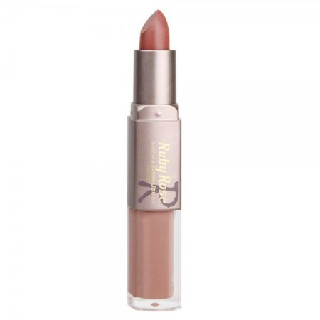 Batom Matte Duo Ruby Rose Cor 187