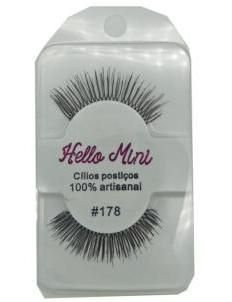Cílios Postiços Hello Mini Modelo 178 CL039-3