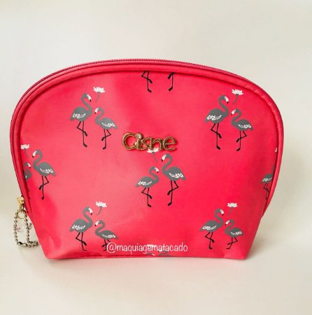 Necessaire Flamingos Rosa