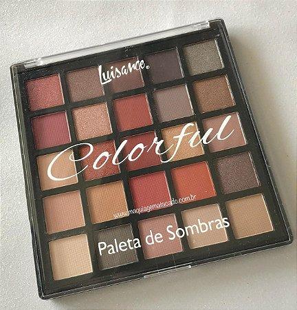 Paleta 25 Cores Luisance Colorful L797