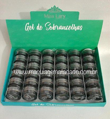 36 Unidades - Gel de Sobrancelhas Miss Lary ML905