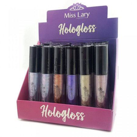 24 Unidades - Hologloss Miss Lary ML602