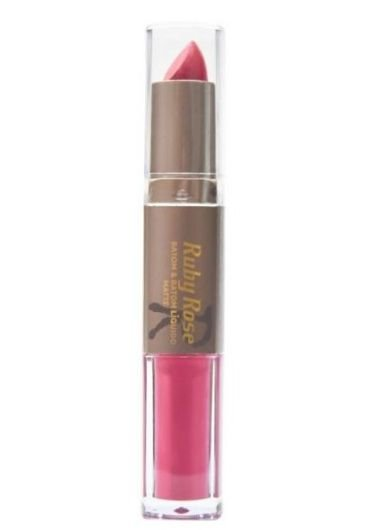 Batom Matte Duo Ruby Rose Cor 003