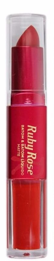 Batom Matte Duo Ruby Rose Cor 001