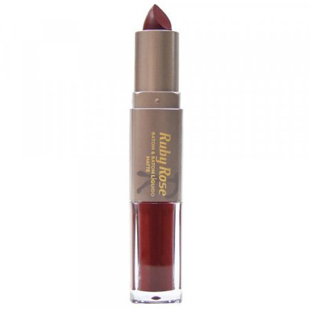 Batom Matte Duo Ruby Rose Cor 021