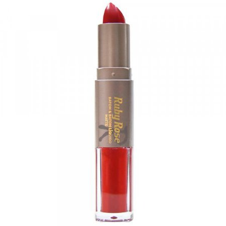 Batom Matte Duo Ruby Rose Cor 019