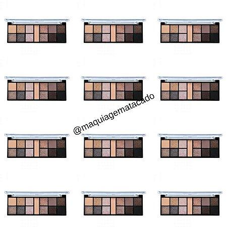12 Unidades - Paleta de Sombra Desert Nude Ruby Rose HB9944