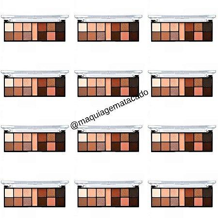 12 Unidades - Paleta de Sombra Just Perfect Ruby Rose HB9946