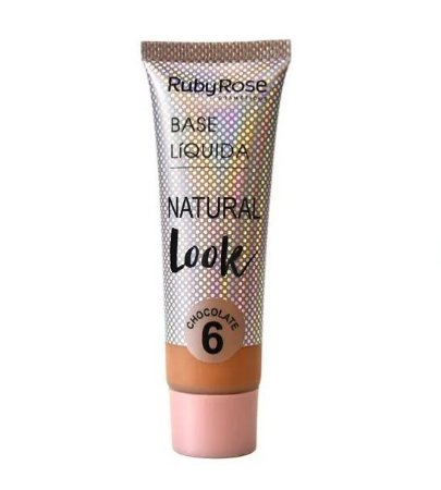 Base Líquida Natural Look Ruby Rose Chocolate 6 - HB8051