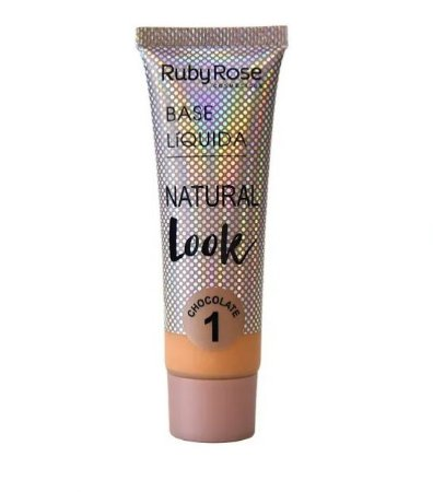 Base Líquida Natural Look Ruby Rose Chocolate 1 - HB8051