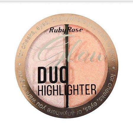 Iluminador Glow Duo Ruby Rose Cor 03 HB7522