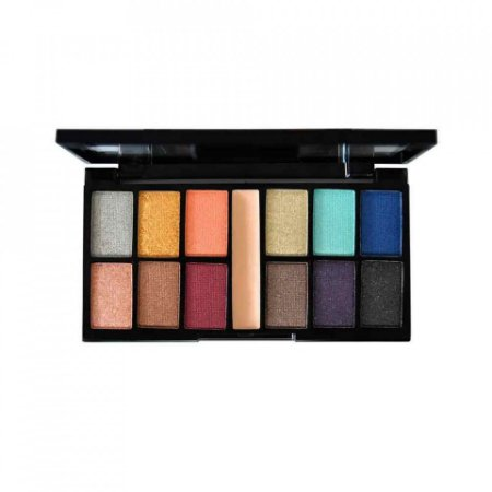 Paleta Kit de Sombras 12 Cores Classical Ruby Rose HB9985-3