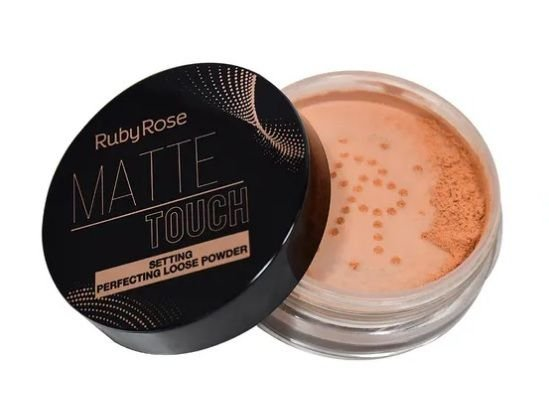 Pó Solto Matte Touch Neutro Bronzeado Ruby Rose HB7222-3