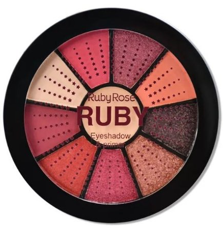 Paleta de Sombras Ruby Ruby Rose HB9986-8