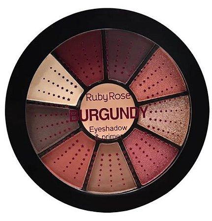 Paleta de Sombras Burgundy Ruby Rose HB9986-9