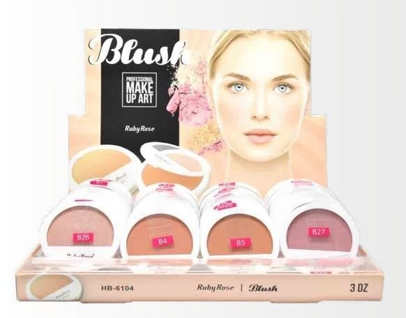 36 Unidades - Blush Ruby Rose HB6104