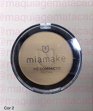 Pó Facial Compacto Mia Make Cor 02