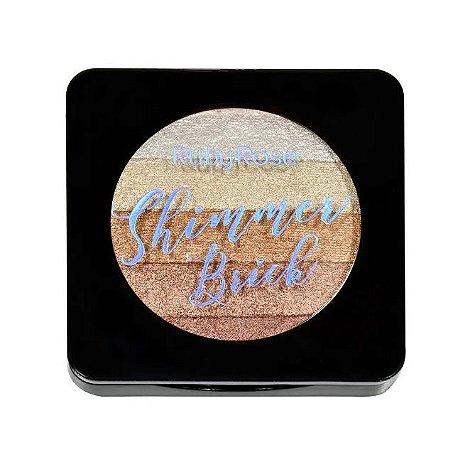 Iluminador Shimmer Brick 5 em 1 Ruby Rose Bronze HB7226-2