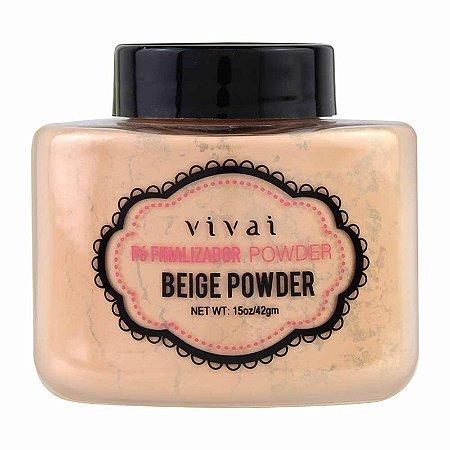 Pó Finalizador Powder Beige Powder Vivai
