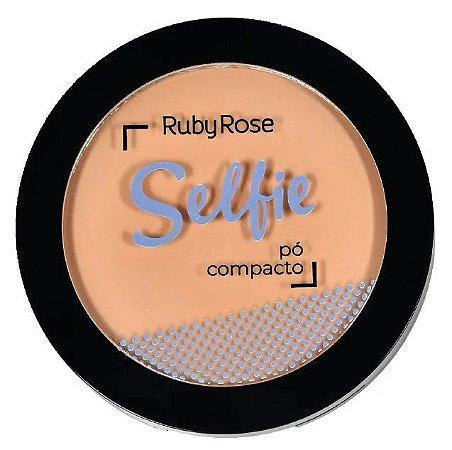 Pó Compacto Selfie Ruby Rose Cor 20 Nude
