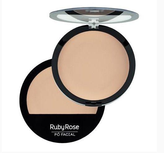 Pó Facial Compacto Ruby Rose Cor 02 HB7206