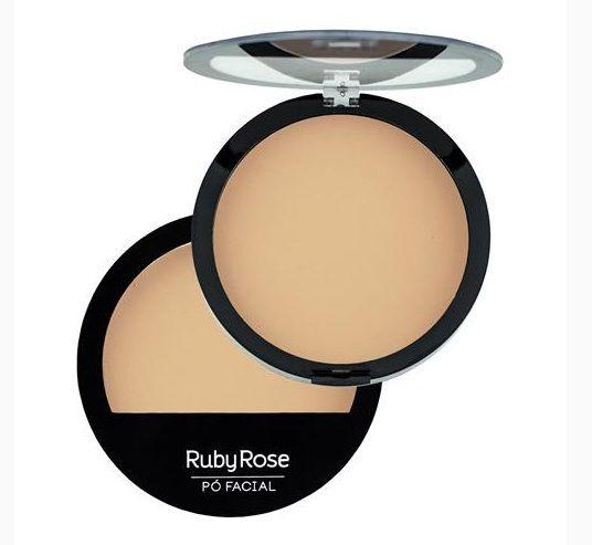 Pó Facial Compacto Ruby Rose Cor 04 HB7206