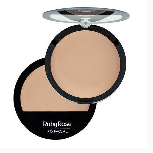 Pó Facial Compacto Ruby Rose Cor 05 HB7206
