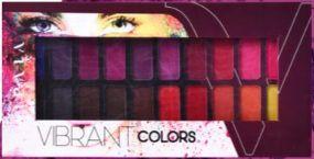Paleta de Sombras 20 Cores Matte Vivai Vibrant Colors