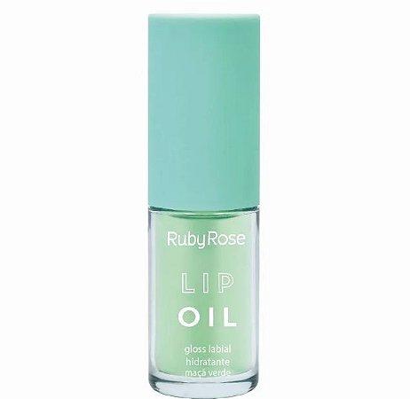 Lip Oil Gloss Labial Hidratante Ruby Rose Maça Verde