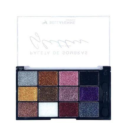 Paleta de Sombras Glitter Bella Femme BF10062