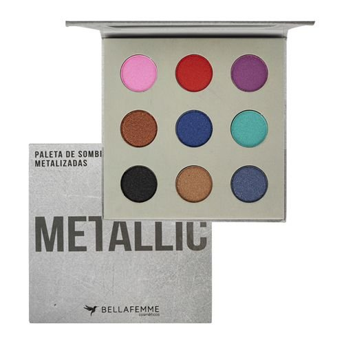 Paleta de Sombras Metallic Bella Femme BF10068