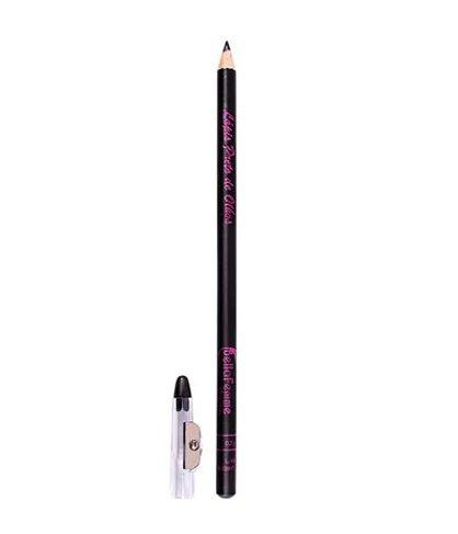 Lápis de Olho Preto com Apontador Bella Femme BF10003