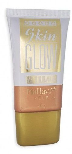 Base Iluminadora Mahav Skin Glow Pele Bronze