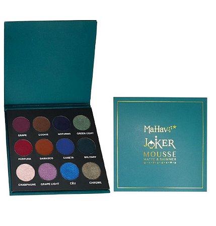 Paleta Joker Mousse Matte & Shimmer Mahav 02