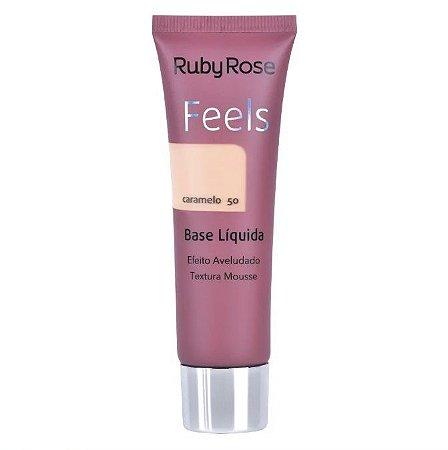 Base Líquida Feels Ruby Rose Caramelo 50