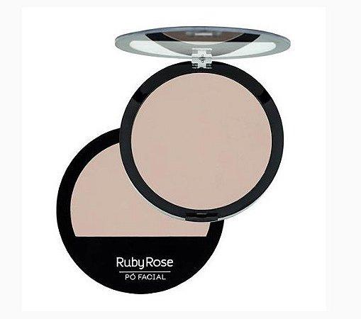 Pó Facial Compacto Ruby Rose Cor 19 HB7206