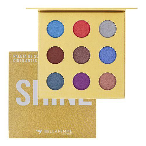 Paleta de Sombras Shine Bella Femme BF10069
