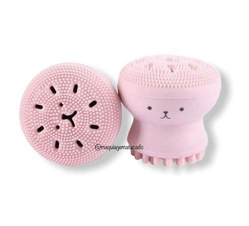 Esponja de Limpeza Facial Polvo