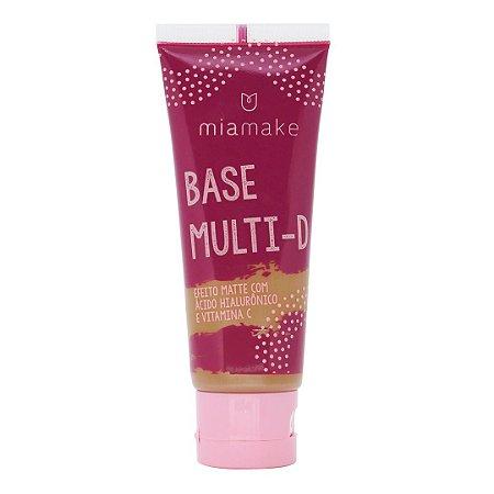 Base Líquida Multi-D Efeito Matte Mia Make Cor 6