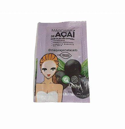 Máscara Facial de Açaí com Óleo de Copaíba Kataya