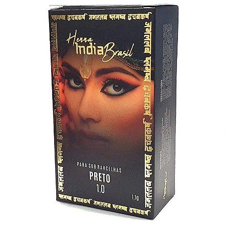 Henna Para Sobrancelha India Brasil Preto