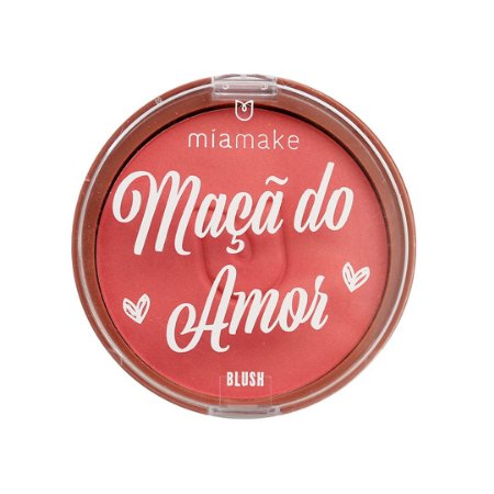 Blush Maça do Amor Mia Make Cor 02
