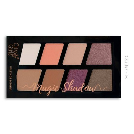 Paleta de Sombra Magic Shadow City Girls Cor B
