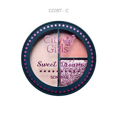 Trio de Sombra Sweet Dream City Girls Cor C