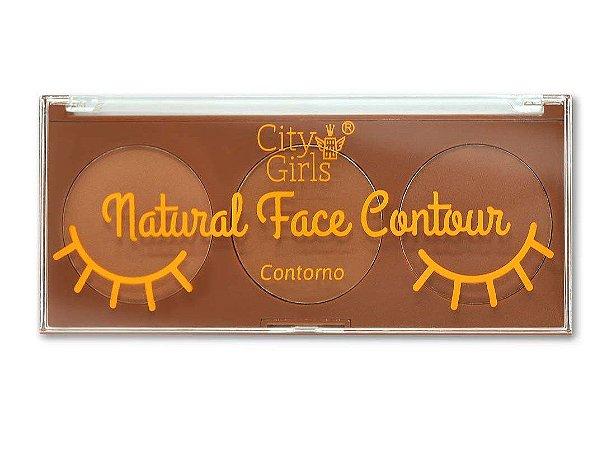 Paleta de Contorno Natural Face Contour City Girls
