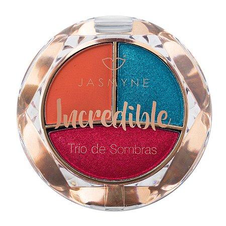 Trio de Sombras Incredible Jasmyne Cor B
