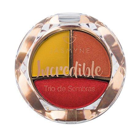 Trio de Sombras Incredible Jasmyne Cor D