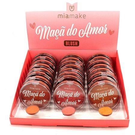 Blush Maça do Amor Mia Make Atacado Box 24 Unidades
